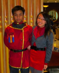 Iroh II and Asami