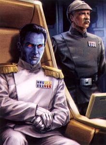 Grand Admiral Thrawn and Captain Pellaeon