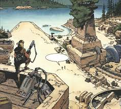 Talon Karrde's Myrkr base