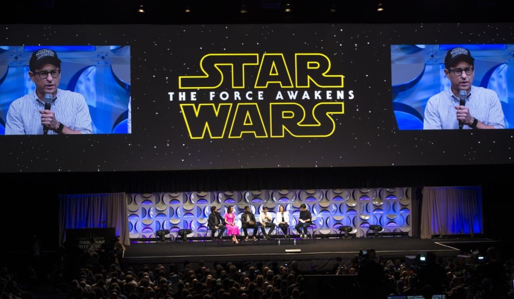 the force awakens panel