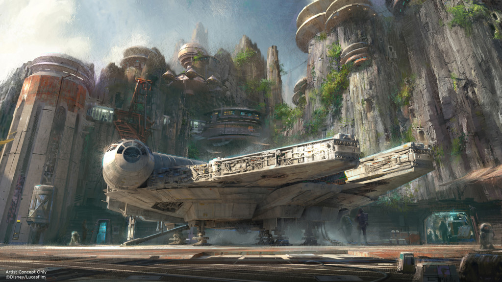 falcon star wars land