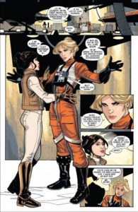 From Marvel's Princess Leia VOL.1