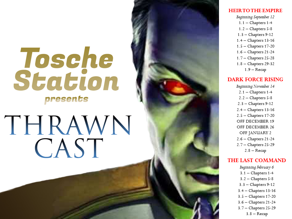 thrawncast schedule to post